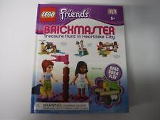 Lego Friends Brickmaster Treasure Hunt in Heartlake City Hardcover DK