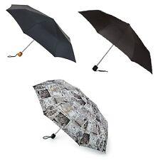 Fulton Stowaway Deluxe Unisex Compact Folding Umbrella in Various Pattern