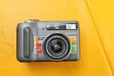 Sony Cyber-shot DSC-S85 4.1MP Digital Camera - Black