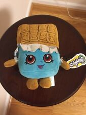 "Shopkins Cheeky Chocolate Candy Bar Plush Stuffed 5.5"" Tall NWT CUTE"