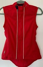 Rapha Women's RED Classic Gilet Vest Small NWOT