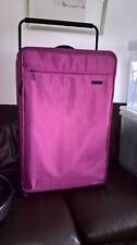 INTERNATIONAL TRAVELLER EXTRA LARGE VERY LIGHT WEIGHT PINK 2 WHEELED SUITCASE