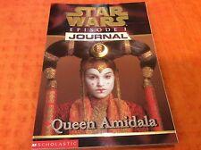 Jude Watson Star Wars Episode 1 Journal Queen Amidala Book BRAND NEW! Great Gift