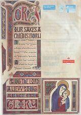 GB Stamps Aerogram / Air Letter APS140 - 1st NVI Manuscript Christmas Issue 2000