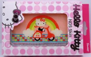 Hello Kitty NDS Skin Pink/Rainbow and Hearts riding Scooter