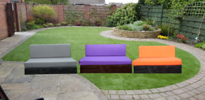 Kosipad Pallet Bench Wall Garden Furniture Foam Cushions Water Resistant Covers