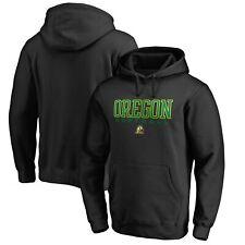Oregon Ducks Fanatics Branded True Sport Softball Pullover Hoodie - Black