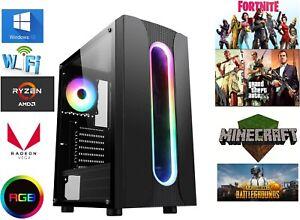 Gaming Computer pc AMD RYZEN 3 4300ge Custom Options - faster than ryzen 5 3400g