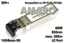 HP X132 J9150A komp SFP+ 10G SR LC 850nm 300m MMF Transceiver