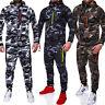 New Mens Tracksuit Jogging Top Bottom Sport Sweat Suit Hoodie Trousers Pants Set