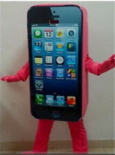 Cell Phone//Mobile Phone//Iphone Mascot Costume Adult Size 100/% Real Picture Shoot