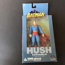 """2004 DC DIRECT BATMAN HUSH SERIES 1 SUPERMAN 6"""" ACTION FIGURE JIM LEE POISON B4"""
