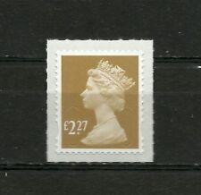 Great Britain Machin  £2.27 OFNP SA 2B De La Rue Code M17L DG 2270.1.1 MNH