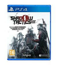 Shadow Tactics - Blades of the Shogun For PS4 (New & Sealed)