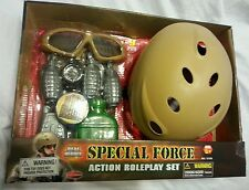 9-Piece Action Toy Set Special Forces Combat Roleplay Pretend