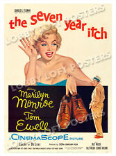 THE SEVEN YEAR ITCH LOBBY CARD POSTER OS-B 1955 MARILYN MONROE TOM EWELL