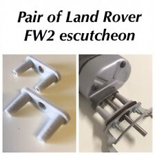 Pair Of Escutcheon Replica - Lucas FW2 Wiper Motor Land-Rover Series 2 2a 330529