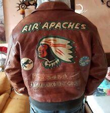 Avirex Lederjacke Apaches L XL Type A2 Jacke