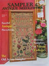 Sampler & Antique Needlework Quarterly Summer 2006 Back Issue Magazine