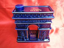 Bouteille cognac porcelaine LIMOGES HAVILAND HINE NAPOLEON ARC TRIOMPHE