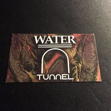 Rare Vintage 1990s NYC Club Item: Tunnel Water Drink Ticket