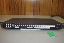 Pelco VA6220 Closed Circuit Surveillance television 20 channel sequential switch