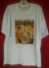 Size XLARGE - Malacca Malaysia MAP Tshirt