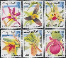 Afghanistan 1999 ☀ Orchids/Flowers/Plants/Nature 6v set ☀ MNH**