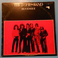 THE J. GEILS BAND BLOODSHOT VINYL LP 1973 ORIGINAL GREAT CONDITION! VG++/VG!!A