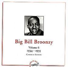 Big Bill Broonzy-Vol. 6 (1934 - 1935) CD