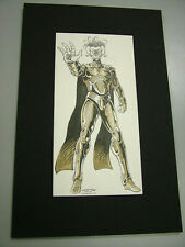 Villains Unlimited: Kevin Long & Siembieda original art, matted - signed 6