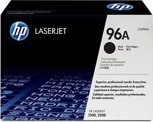 HP 96A Laserjet Black HP C4096A SEALED BOX VAT INCLUDED
