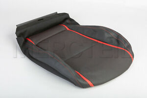 Genuine Mercedes A CLA AMG Front Driver Seat Bottom Cover Black Red A1769102902