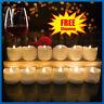24stk Led Teelicht Mit Batteriebetrieben Kerze Kerzen Flamme Wachskerzen Lot