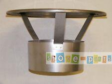 "5"" Stainless Steel Flexible Flue Liner Rainhat Top Cowl"