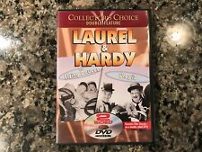 Laurel And Hardy Dvd! The Flying Deuces/Utopia! 1939/1951 Comedies!