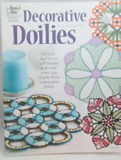 Annie's Attic Decorative Doilies Plastic Canvas Pattern - Stained Glass Flowers