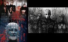 Pinhead Hellraiser Cenobites Clive Barker prints Lot 11x17 High Quality Posters