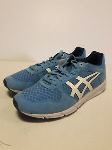 ASICS Onitsoka Tiger Mens Size US 6.5 Shaw Runner Atomic Blue Sneakers Shoes