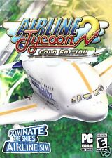 AIRLINE TYCOON 2 GOLD EDITION.BRAND NEW DVD SOFTWARE SHIPS FAST and SHIPS FREE!!