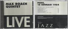Max Roach Quintet With Abbey Lincoln - Paris, 18 Gennaio 1964 - CD sigillato