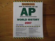 Barron's How to Prepare for the AP World History Advanced Placement Exam by...