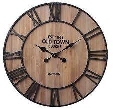 "Colossal Sized Retro Shabby Chic Wall Clock. 69cm Diameter (31"" +) 7232"