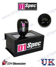 D1 SPEC UNIVERSAL RACING CARBON GEAR KNOB 6MT JDM DRIFT RALLY