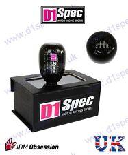 D1 SPEC CARBON GEAR KNOB 6MT IMPREZA STI SKYLINE R33 R34 GTR RX7 RX8 SUPRA 240SX