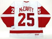 """DARREN McCARTY DETROIT RED WINGS SIGNED """"STANLEY CUP GWG"""" JERSEY PSA/DNA COA"""