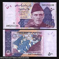 PAKISTAN 50 RUPEES P56 New x 50 Pcs Lot 1/2 BUNDLE LAHORE FORT UNC MONEY NOTE