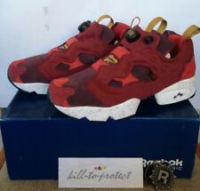 REEBOK x END CLOTHING INSTA PUMP FURY CLARET Sz US8 UK7 RED Burger 2014 Release