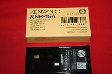 NEW OEM Kenwood Ni-Cd Battery Pack KNB-15A KNB15A -- Brand New in Box - BNIB
