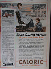 1920 Pipeless Caloric Furnace Enjoy Florida Warmth In Your Home Advertisement